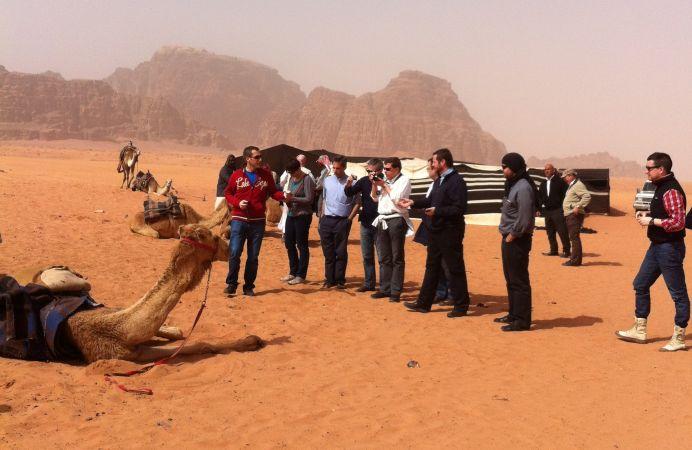 De Viaje en Wadi Rum