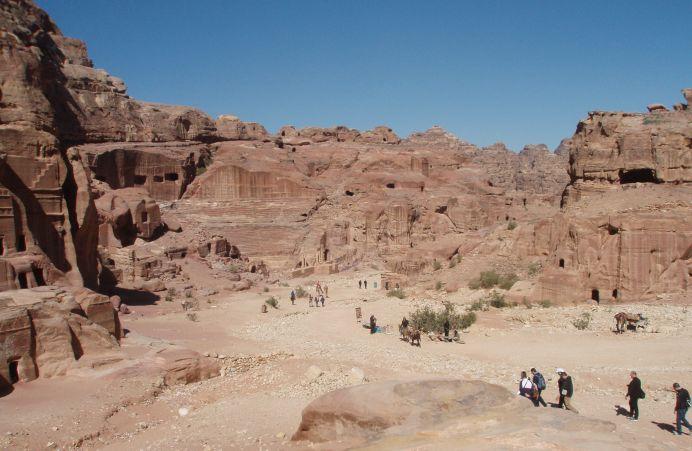 La impresionante ciudad nabatea de Petra