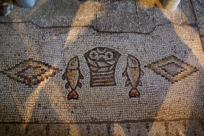 Tabgha o la multiplicación de los panes y los peces