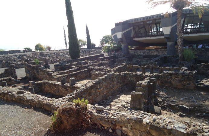La Casa de Pedro , en Cafarnaúm, Tierra Santa