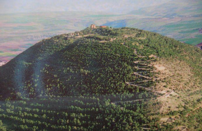 Vista del Monte Tabor
