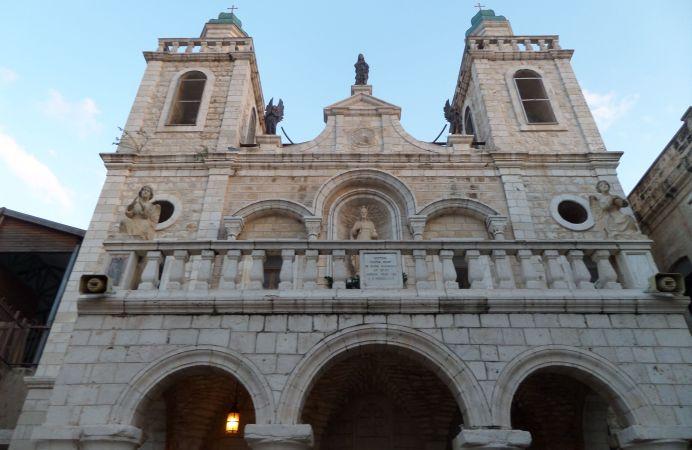 Iglesia franciscana de Caná