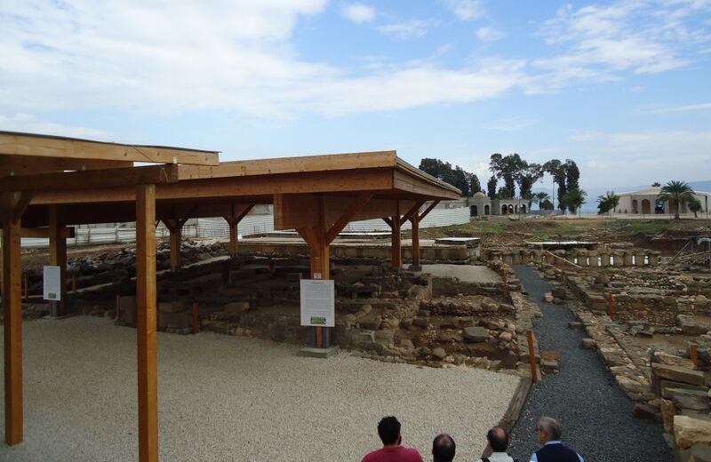 En las ruinas de Magdala