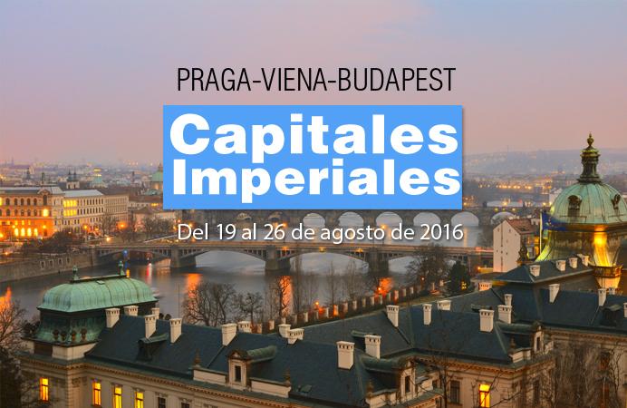 CAPITALES IMPERIALES DEL 19 AL 26  DE AGOSTO
