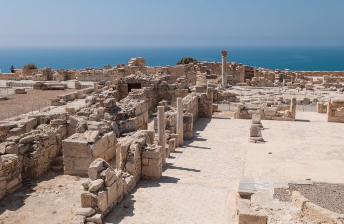 Museo Arqueológico en Kourion, Chipre