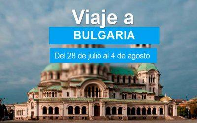 VIAJE A BULGARIA DEL 28 DE JULIO AL 4 DE AGOSTO