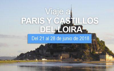 VIAJE A PARIS Y CASTILLOS DEL LOIRA DEL 21 AL 28 DE JUNIO
