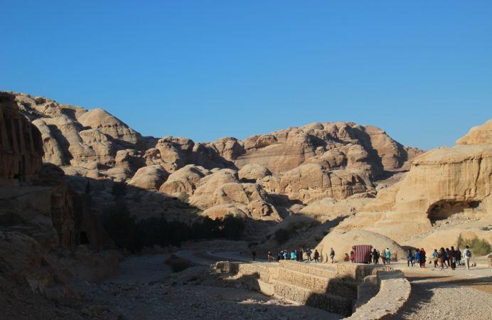 Bajando a Petra