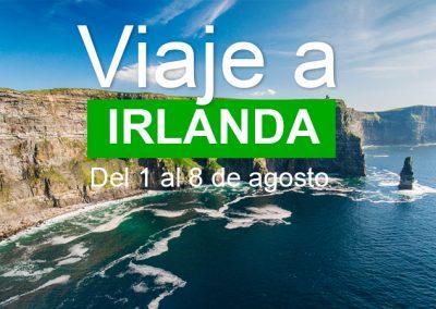 VIAJE A IRLANDA DEL 1 AL 8 DE AGOSTO