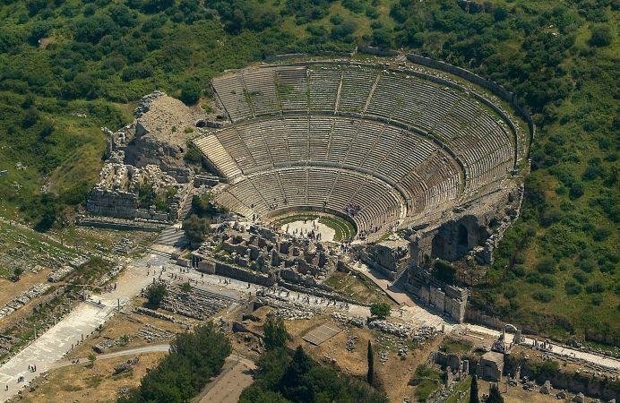 Efeso, una de las 7 maravillas del mundo antiguo