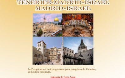 Peregrinación a Tierra Santa con los Padres Franciscanos del 1 al 7 de marzo