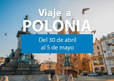 VIAJE A POLONIA DEL 30 DE ABRIL AL 5 DE MAYO