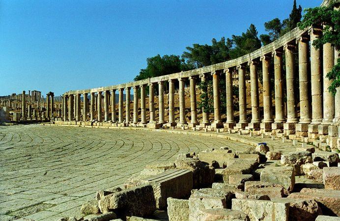 Gerasa , la joya romana de Jordania