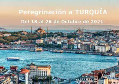 RUTA DE SAN PABLO: TURQUIA. DEL 18 AL 26 DE OCTUBRE 2021