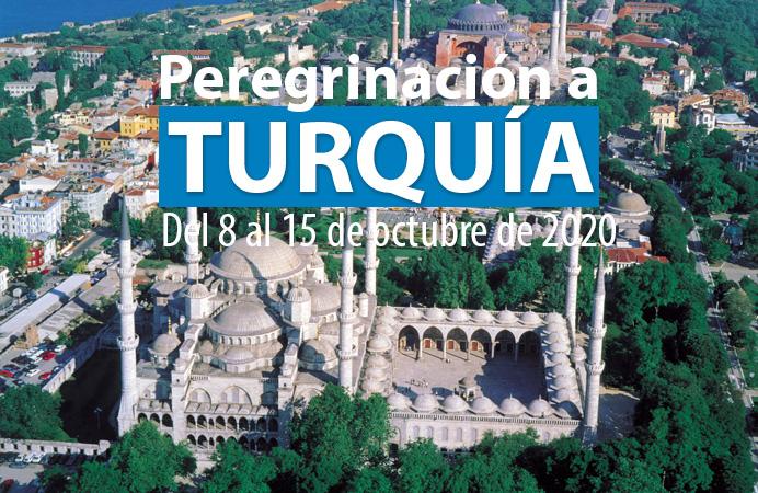 RUTA DE SAN PABLO: TURQUIA. DEL 8 AL 15 DE OCTUBRE 2020