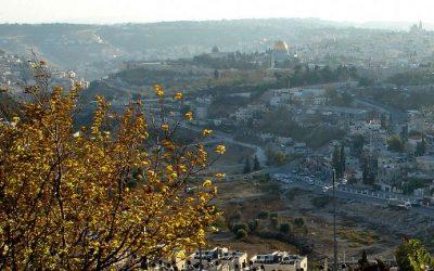 Jerusalen desde el Monte Scopus