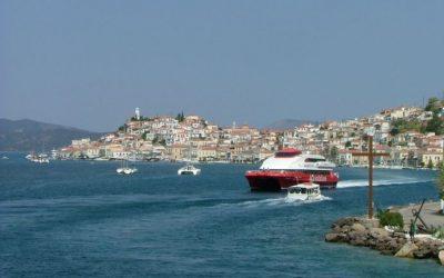En las islas griegas de Aegina, Hidra y Poros