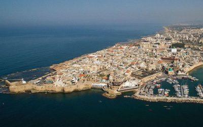 San Juan de Acre , en tierra de cruzados