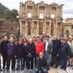 Nuestro grupo de amigos en Efeso , Ruta de San Pablo Turquía